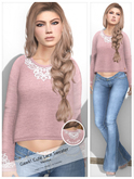 Gawk! DEMO Cute Lace Sweater - for mMaitreya Mesh Body - SPECIAL advertising price of 99L$