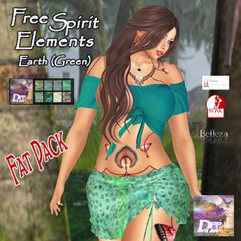 DFF FreeSpirit Fatpack Earth