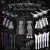 14. [CX] Enochian Succuba - Skirt ( Black ) - M