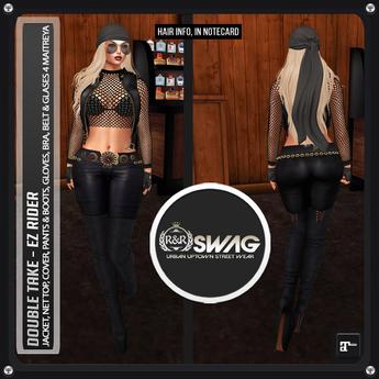[RnR] Swag EZ Rider Women's Biker Outfit for Maitreya!