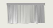 """ValArt curtain """"Snow white"""" Gift"""