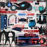 ANTINATURAL[+] Deathracer / Bodysuit / MAITREYA / BLACK