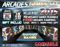 = Arcades Games Set 2015 = (COPY) [BOX]