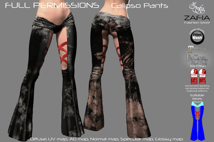 Full Perm-ZAFIA Calipso Pants-FatPack