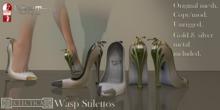 Eclectica Wasp Stilettos- ivory