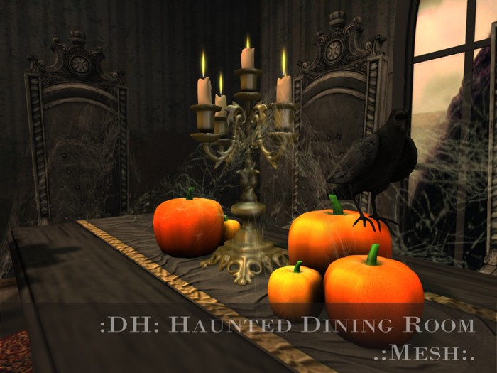 :DH: Haunted Dining Room (MESH)
