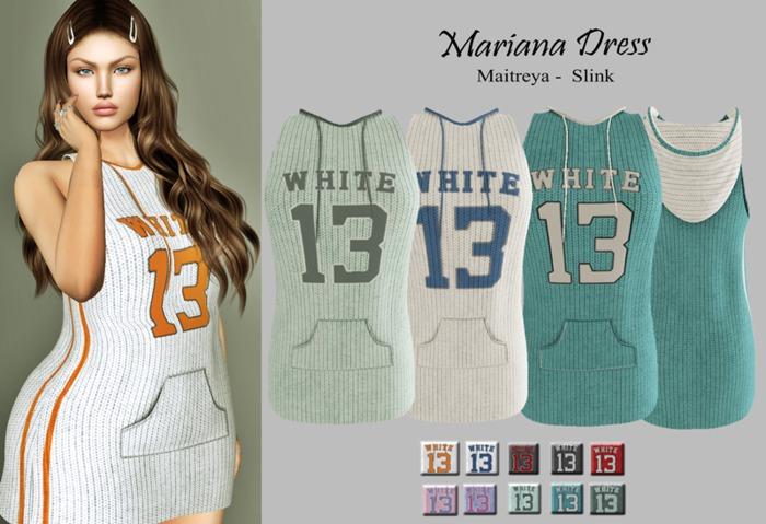 :::LS DIAMOND DRESS MARIANA