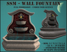 SSM - Wall Fountain UPDATED
