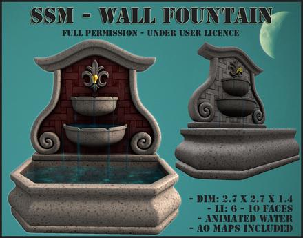 SSM - Wall Fountain UPDATED