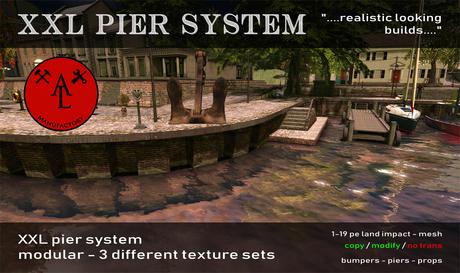 AL XXL Pier System - Summer SALE - 20 %