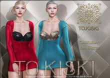 TO.KISKI - Madeleine Mini Dress / FatPack -  (add me)