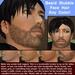 Beard stubble face hair