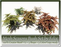 Mesh Bush Set by Felix 1 Li=3 Shape=5 Colors copy-mody