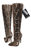 .: ryvolter :. Snake Effect Boots - Rattlesnake