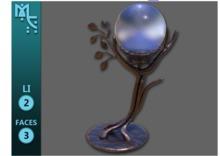 Enchanted Table Lamp - Full Perm
