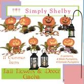 Fall Pumpkin Lady 1