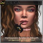 __::NITSUGA::__ Halloween Spider in Mouth