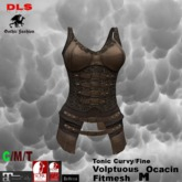 Leather Armor brown Fitmesh boxed