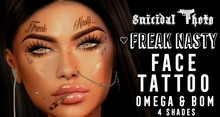 [Suicidal Thots] Freak Nasty Face Tattoo