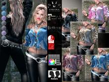 V-Twins - Casual Clothes - Probe Collection Color Version **MESH Top & Pants Compat. (Maitreya Slink & Belleza)