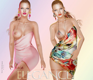 "Elegance Boutique -Dress - DEMO  -  ""Shaia"" - Maitreya /Slink / Belleza"