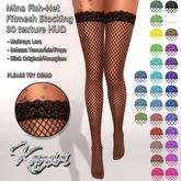 + Kamiri + Fish-Net Mina Fitmesh Stocking 30 tex (ADD ME)