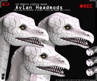 Found Footage - Avian Heads for the iMonster Dragon