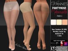 [VANNIES] Pantyhose Mademoiselle 1 (Applier HUD + BoM) (Belleza, Maitreya, Slink, Omega + Classic Avatar)