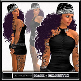 "FREE EdelStore  woman hair "" Roxana "" majestic girl biker hair Bandana freebie gratis PROMO hair cheveux gratuit bike"
