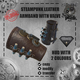SW ARMBAND steampunk aesthetic with valve
