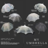 box) {anc} my umbrella (fabric) frill