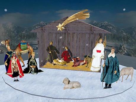 Christmas Manger / Nativity Scene