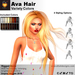 A&A Ava Hair Variety Colors, boxed