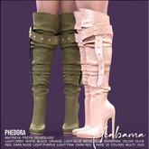 Phedora ~ Alabama boots ~ Maitreya LIGHT GREY
