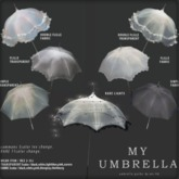 {anc} my umbrella (fabric) simple (Box)
