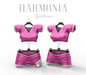 * Harmonia Original Pink White Sports Team Outfit Maitreya