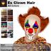 A a es clown hair all colors pic