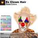 A&A ES Clown Hair Pastel Colors, boxed