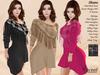 ST :: Sloane Dress - Maitreya Lara, Slink (P, H), Belleza ( V, I, F)), Tonic (C, F) and eBody (C)