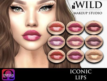 :::WILD:::Makeup Studio Iconic Lips OMEGA