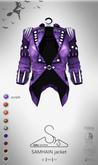 [sYs] SAMHAIN jacket (body mesh) - purple GIFT <3