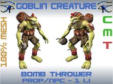 GOBLIN CREATURE - BOMB THROWER