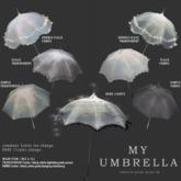 box) {anc} my umbrella (fabric) frill