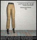 !APHORISM! - Sinead Suit Pants - Tan