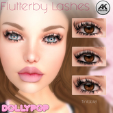 ~Dollypop~ Flutterby AK Deluxe Lashes