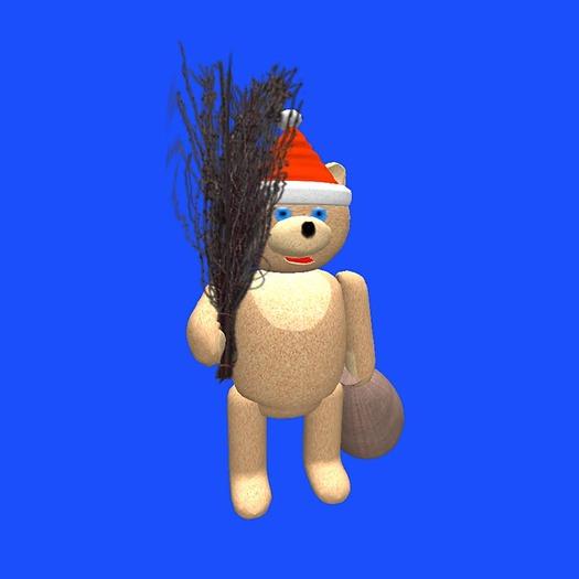 Christmas Teddy Bear (low prim!!!)