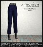 !APHORISM! - Sinead Suit Pants - Blue