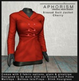 !APHORISM! - Sinead Suit Jacket - Cherry