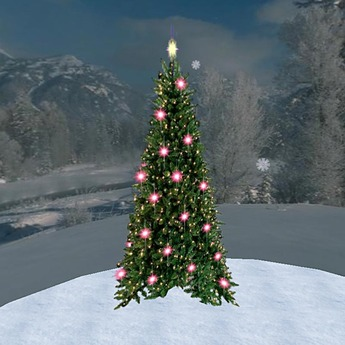 Christmas Tree 1 (1 Prim)