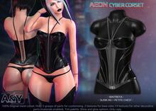 A&Y Aeon Cyber Corset - Black